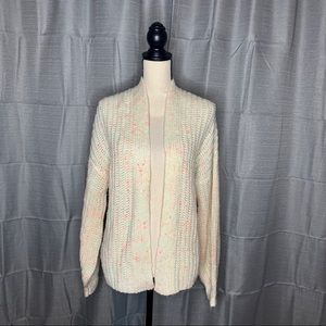 Love by Design Neon Fleck Cardigan